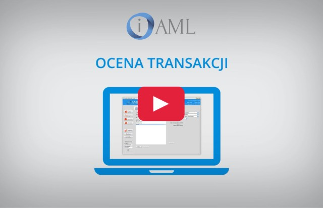 Ocena transakcji w programie analitycznym iAML